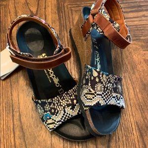 Papillio  by Birkenstock Textile Leather Sandal